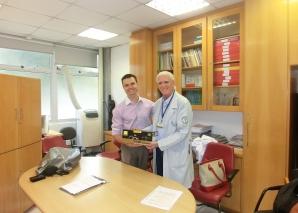 CEADS recebeu doação da Empresa Germed Pharma