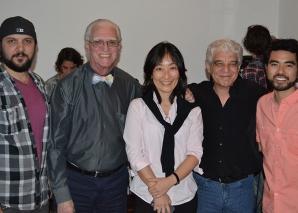 Colaboradores do CEADS compareceram à inauguração da Casa Parintins