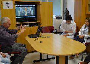 O CEADS mostrou as aulas com Homem Virtual