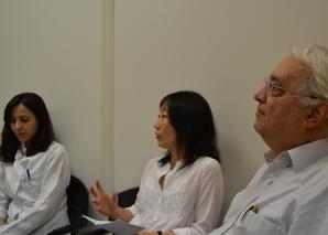 """O Prof. Delia e a Profa. Silvia Quiota fizeram palestras sobre """"Gestão"""""""