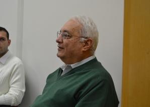 Prof. Delia e Prof. Rothenberg, ministraram Palestra sobre Gestão.