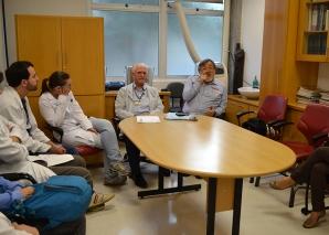 Prof. Fabio Haramura fez Palestra sobre Gestão.