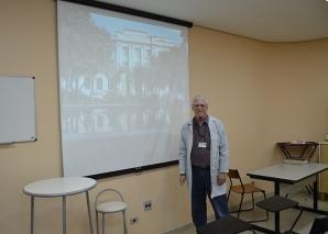 Prof. Fagundes fez Palestra no Hospital Padre Bento.
