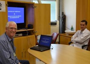 Prof. Fagundes fez Palestra sobre DST.