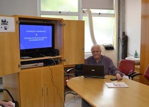 Prof. Fagundes fez Palestra sobre DST