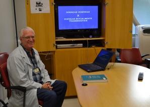 Prof. Fagundes, fez Palestra sobre DST