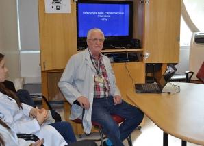 Prof. Fagundes, fez Palestra sobre HPV