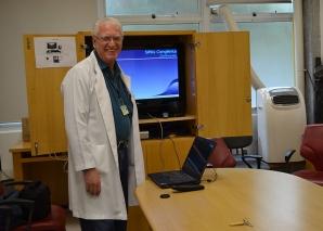 Prof. Fagundes, fez Palestra sobre Sífilis Congênita