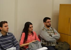 Prof. Fagundes, recebeu os Estagiários de agosto de 2014