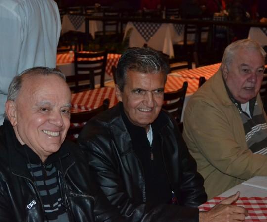 Dr. Claudionor Dias da Costa, Dr. Henrique Santoro e Dr. José Branchini.