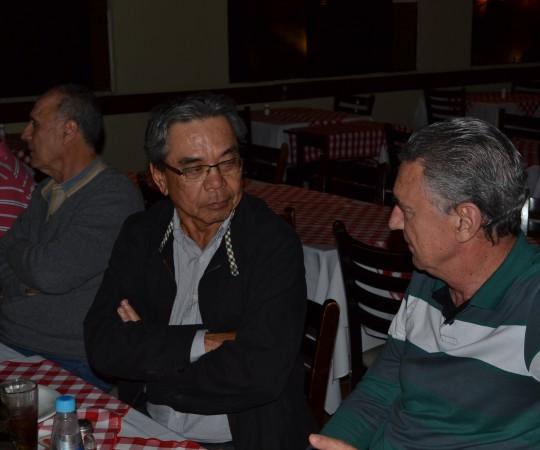 No primeiro plano: Dr. Marco Antonio Sampaio de Campos e o Dr. Wilson Ogawa, engenheiros, responsáveis pela Gestão dos novos Projetos do CEADS.