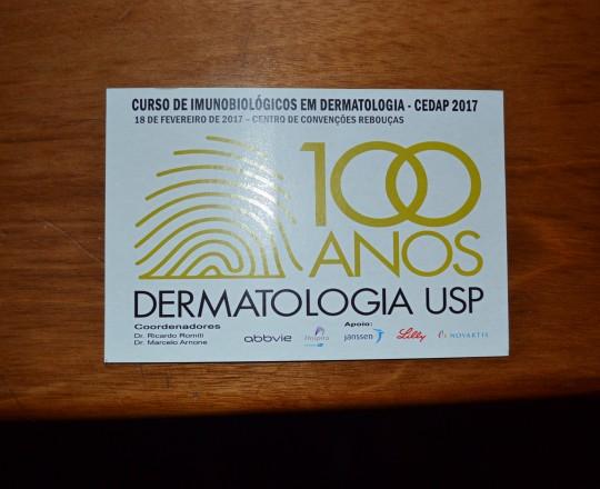 """Convite do Curso sobre """"Imunobiológicos em Dermatologia, Coordenado e pelos Professores dr. Ricardo Romiti e Dr. Marcelo Arnone, Ex Presidente e Presidente Atual do CEADS."""