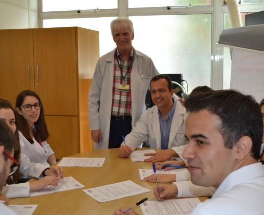 Os Estagiários de IST do mês de março de 2017, submetidos à Prova Final de IST, sob a Orientação do Prof.Dr. Luiz Jorge fagundes, Coordenador Científico do CEADS.