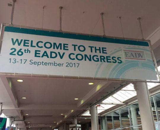 Fachada do  Prédio na Cidade de Genebra na Suíça, onde ocorreu o 26 Congresso Europeu de Dermatologia.