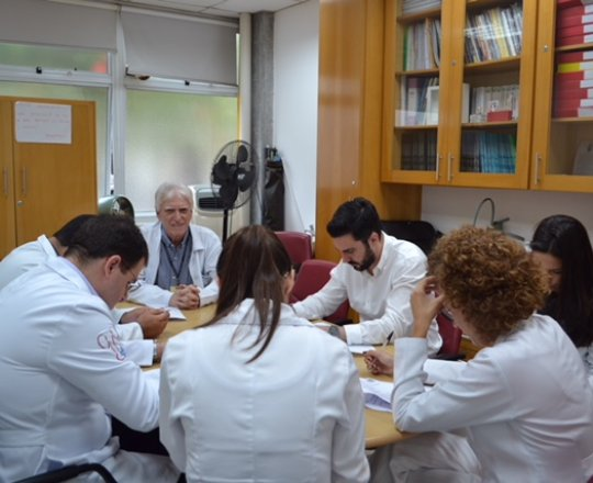 O Prof. Dr. Luiz Jorge Fagundes, Coordenador Científico do CEADS e os Estagiários de DST de fevereiro de 2017, durante a realização das Provas Iniciais de DST.