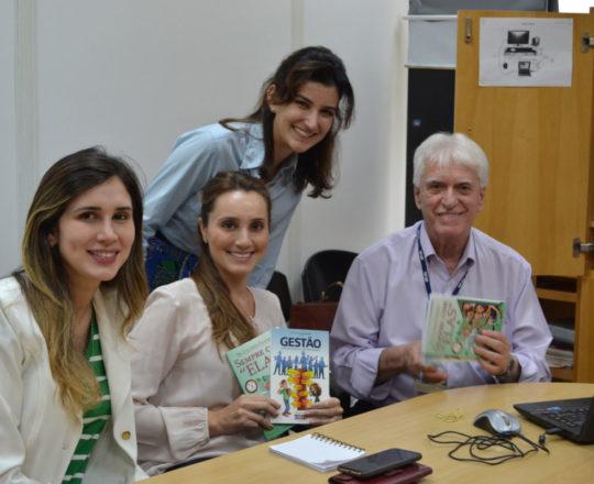 O Prof. Dr. Fagundes, fez Palestra sobre a Infecção pelo HPV.