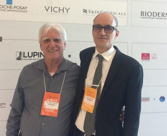 O Prof. Dr. Luiz Jorge Fagundes e o Prof. Dr. Mario Cezar Pires, durante a realização da 23 RADESP.
