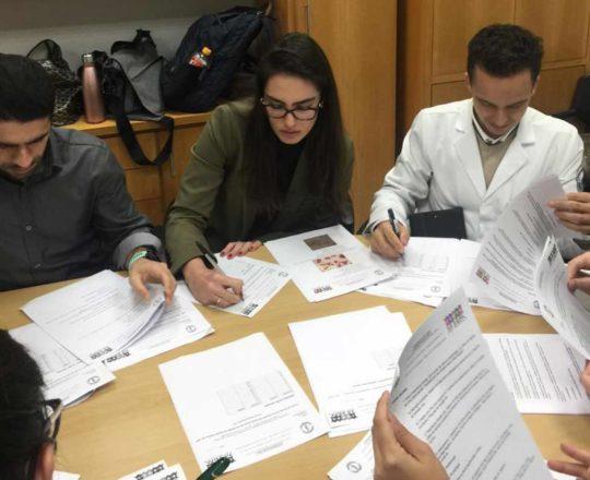 O Prof. Dr. Fagundes aplicou as Provas Finais do Estágio de DST de agosto de 2019.