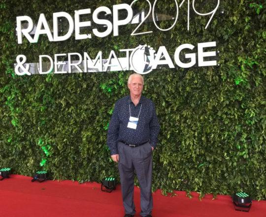 O Prof. Dr.Fagundes, durante a realização da RADESP de 2019