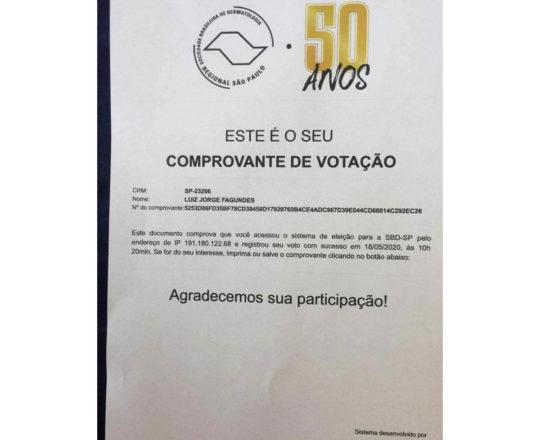 A SBDRESP promove Eleição da Diretoria.