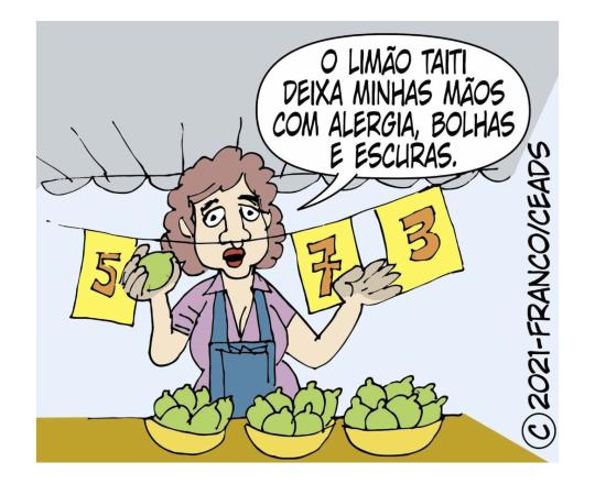 Fitofotodermatoses por limão Taiti