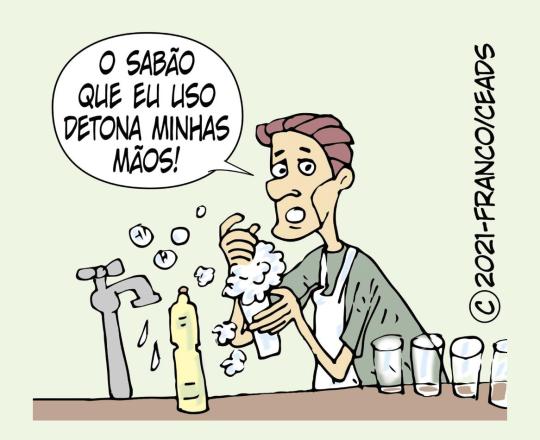 Dermatite por sabões e detergentes