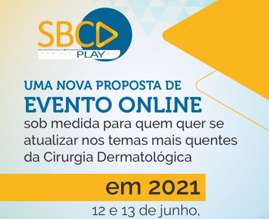Conheça o SBCD Play, evento 100% online e gratuito para sócios
